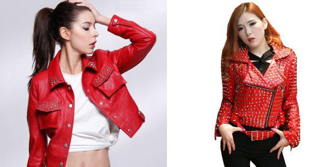 Любите яркую эффектность: стоит купить красную куртку!
