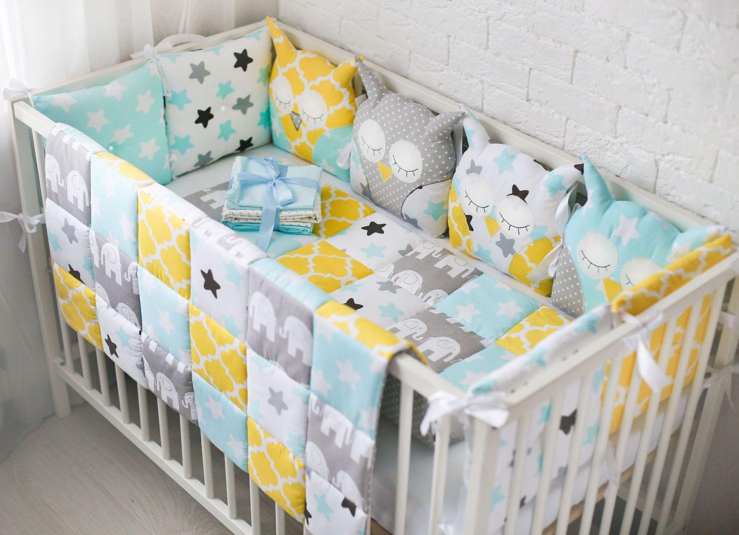 Выбираем постельное белье в детскую кроватку