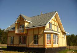 Как построить теплый и надежный дом быстро