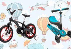 Детский транспорт как игрушка и средство передвижения