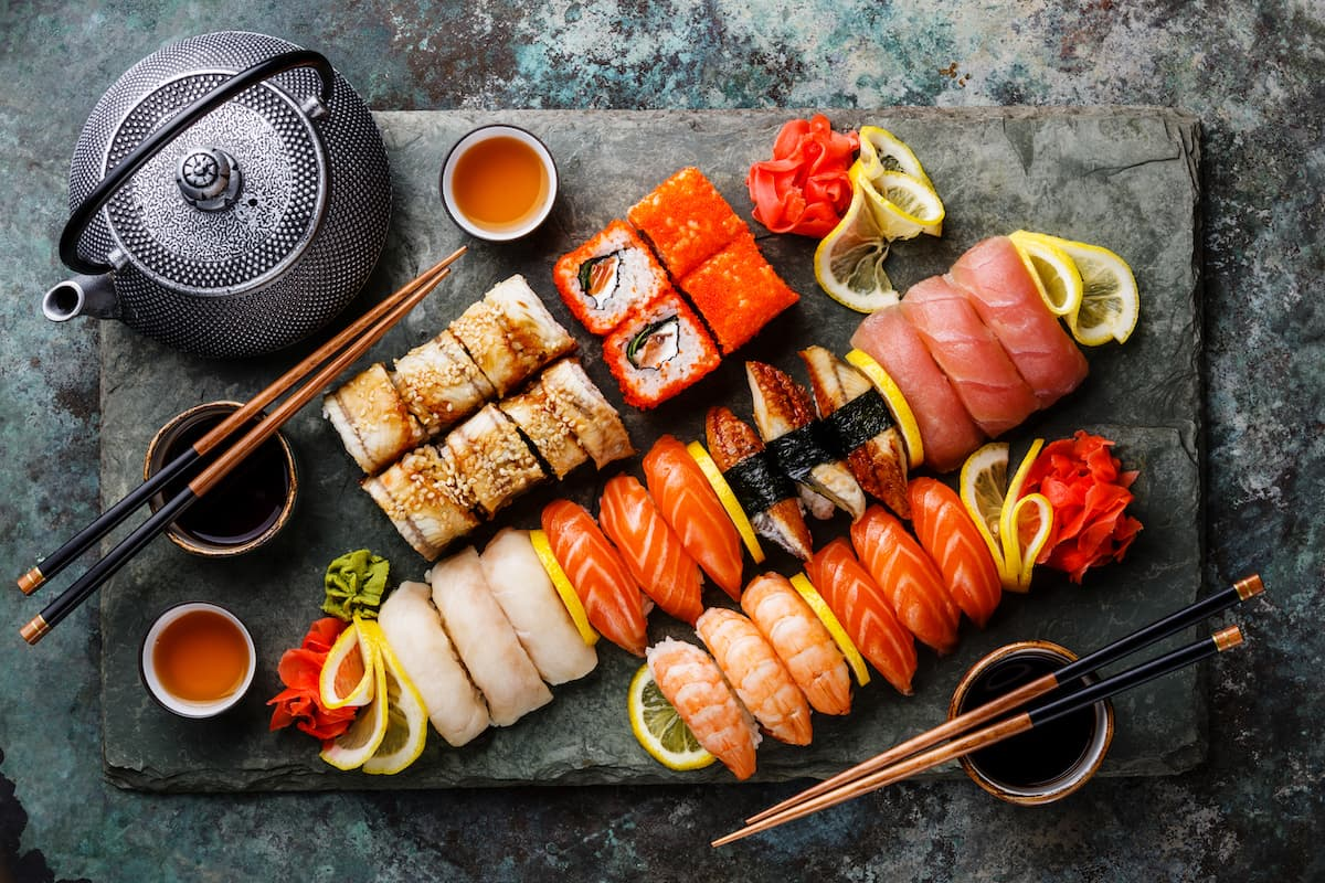 Любые разновидности суши от ресторана «Sushi Icons»