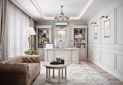 Неоклассический стиль в интерьере комнат