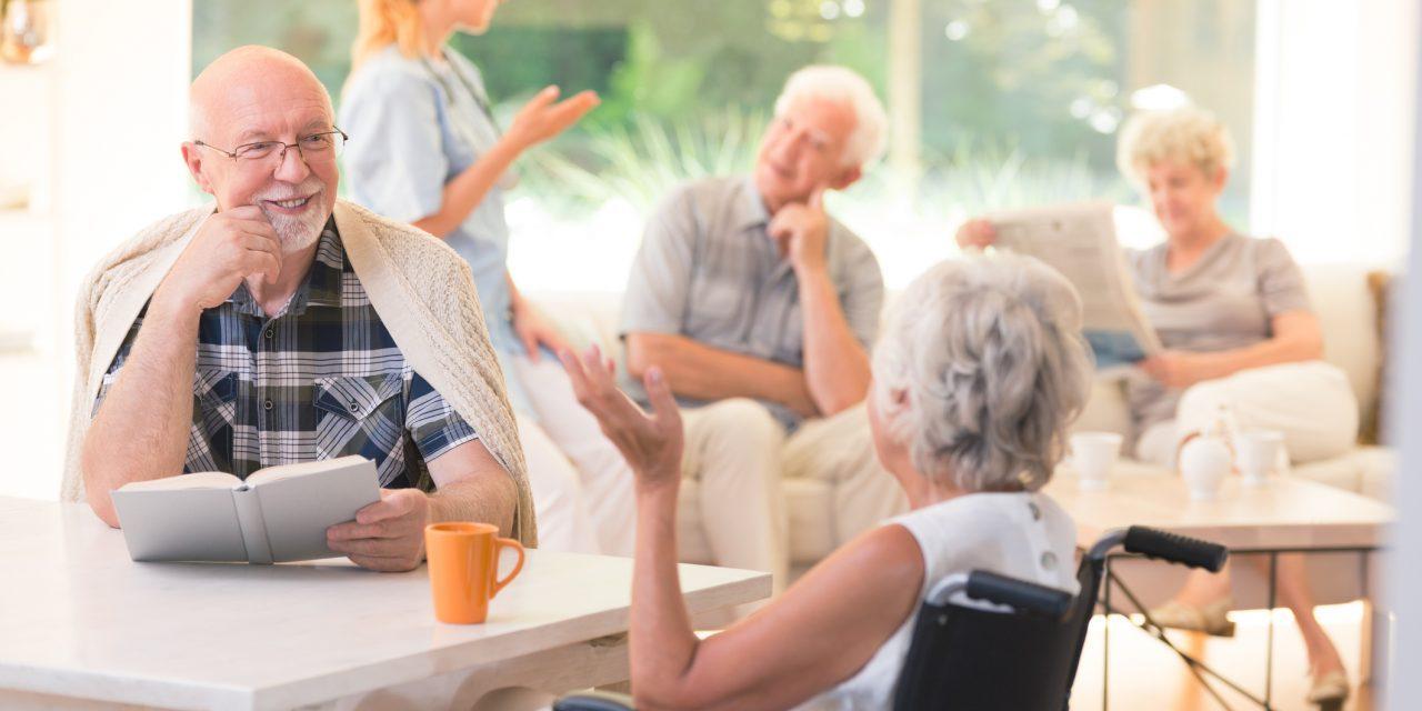 Проживание в доме престарелых