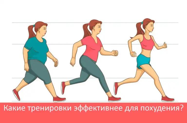 Кардио тренировки для похудения и правильное питание