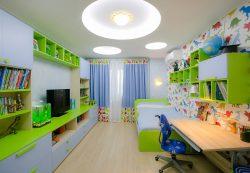 Разница в освещении в комнате мальчика и девочки