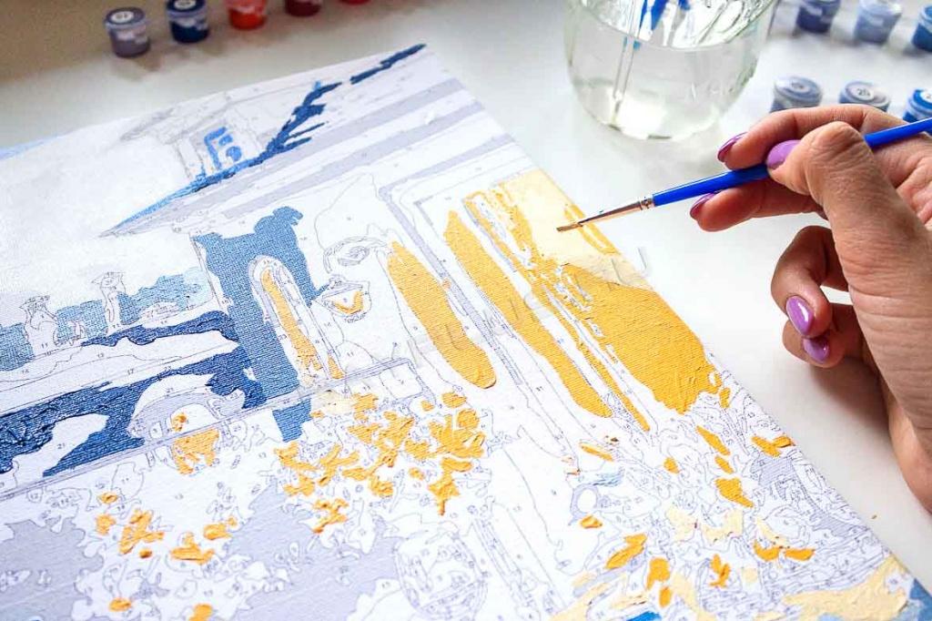 Картины по номерам – возможность создать художественный шедевр
