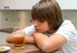 Алкогольная зависимость у детей