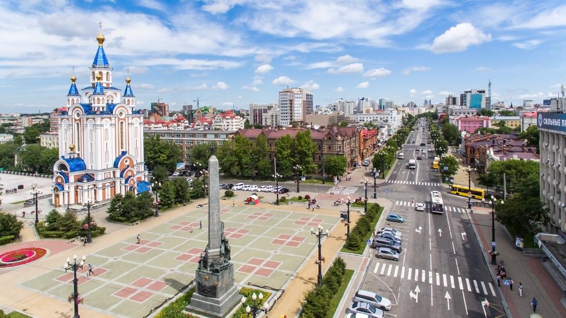 Интересные города России: Хабаровск