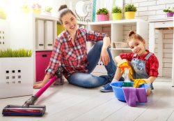 Ребенок и чистота: эффективные и безопасные моющие средства для ковров