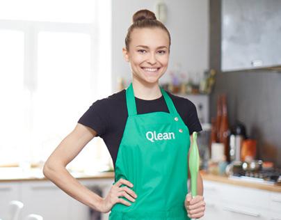 Уборка помещений и другие услуги от компании «Qlean»
