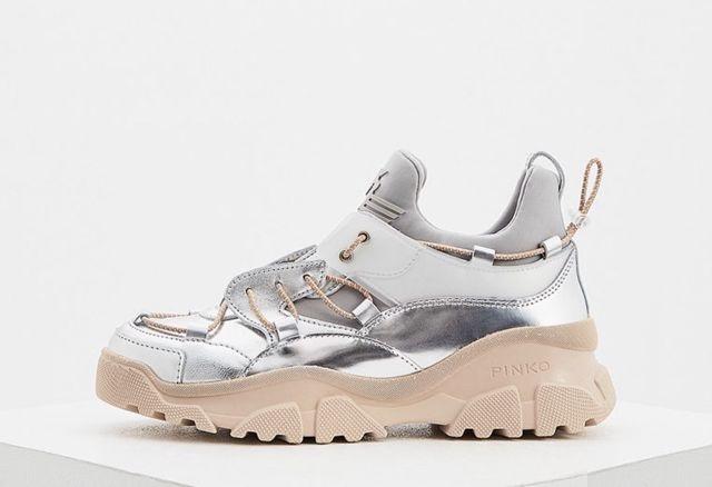 Популярность женских кроссовок Pinko
