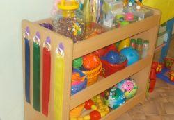 Где купить оборудование для младшей группы детского садика?