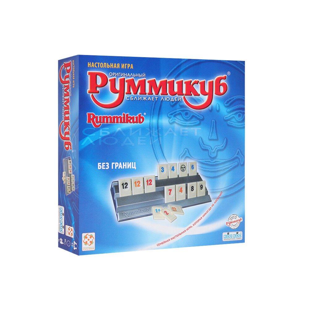 Играем в настольную игру Rummikub («Руммикуб»)