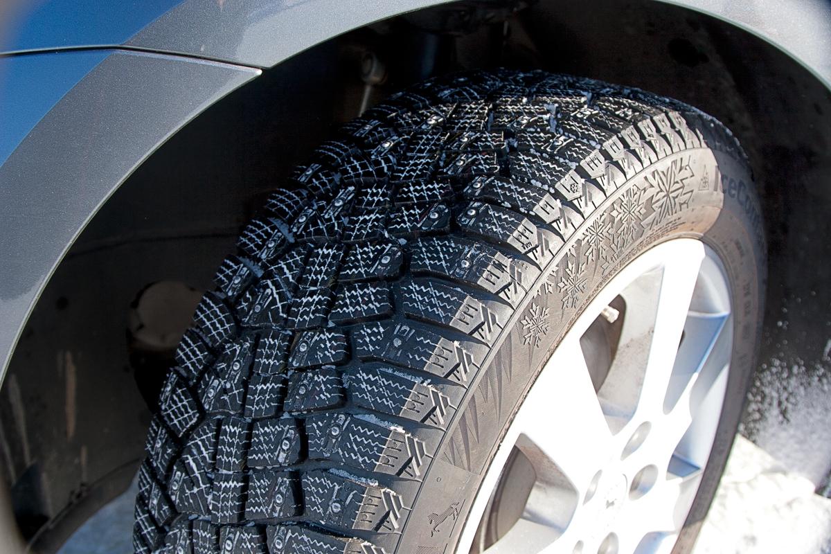 Шипованные шины – за и против