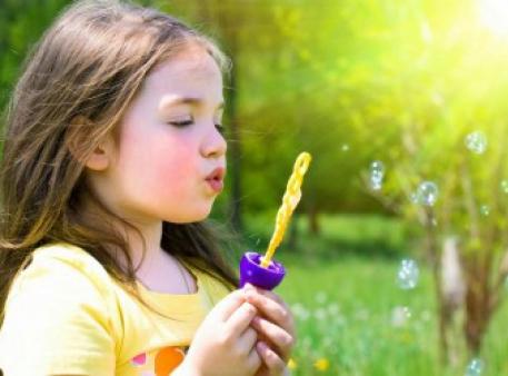 Как научить ребенка спокойно дышать