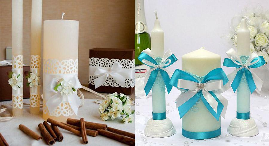Как выбрать свечи для свадьбы: полезные рекомендации
