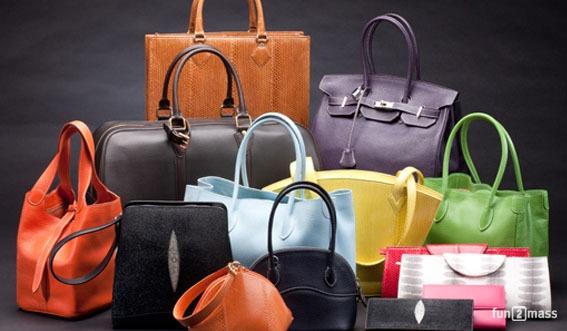 Ассортимент женских сумок